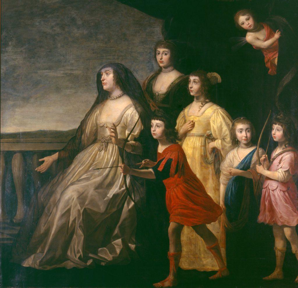 Gerrit van Honthorst_Elizabeth Stuart als Witwe_um 1636_G2069