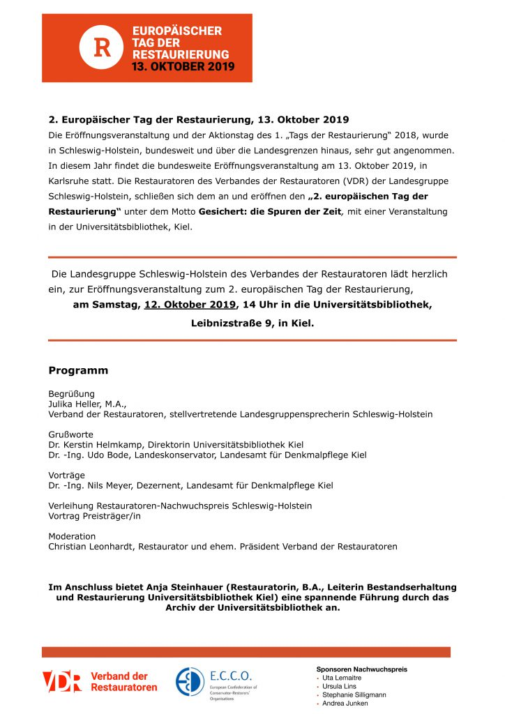 Programm ETdR 2019
